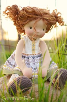 """Hadley"" a 20"" Glimmer Row doll :: Glimmer Row Doll Boutique In-stock Store"