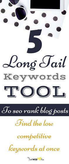 5 Best long tail keywords tool which you can use for free. These long tail keywords tool will help you to research keywords in the simplest way. Good Quotes, Best Seo Tools, Keyword Planner, Seo For Beginners, Seo Keywords, Change Your Life, Search Engine Marketing, Seo Tips, Search Engine Optimization
