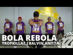 BOLA REBOLA by Tropkillaz,J. Balvin,Anitta | Zumba | TML Crew Kramer Pastrana - YouTube Zumba Workout Videos, Zumba Videos, Dance Workouts, Video Artist, Lets Dance, Dance Music, Music Publishing, Musicals, Hip Hop