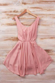 Blush pink dress!