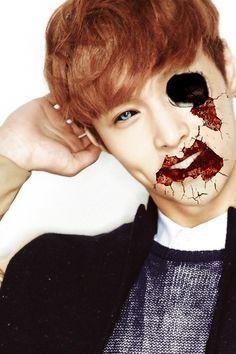 tumblr_nd5092cIvM1rw4a6qo2_r1_500.gif (500×750) Halloween EXO- Zhang Yixinsane