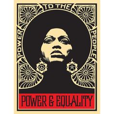 From KP Projects, Shepard Fairey, Afrocentric, Limited Edition Silkscreen of 18 × 24 in Protest Posters, Political Posters, Political Art, Political Campaign, Protest Kunst, Protest Art, Protest Signs, Plakat Design, Kunst Poster
