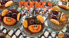 Cute monkey cupcakes!