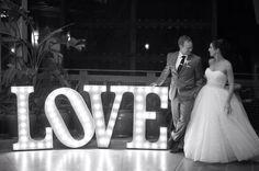 Love! #VintageMarqueeLights