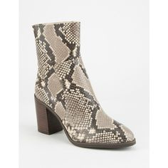 Steve Madden W Rewind Boot (3 480 UAH) ❤ liked on Polyvore featuring shoes