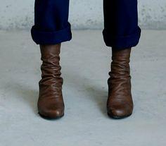 SALE 30%  Brown felice boot. $203.00, via Etsy.