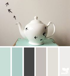 Teapot Tones via @designseeds