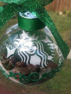 Starbucks Christmas Ornament by craftymindz on Etsy, $6.99 @shelby c Smolik--could easily make myself