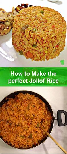 There is only one meal that pleases everyone...Jollof Rice! I am yet to meet anyone who doesn't like my recipe.