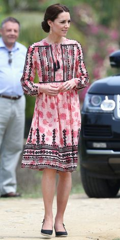 Kate Middleton's Most Memorable Outfits - April 13, 2016 from InStyle.com