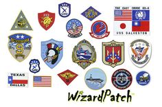 TOP GUN ORIGINAL MOVIE JACKET 19PC PATCH SET Top Gun, Original Movie, Galveston, Patches, Seasons, Logos, Homecoming, Jackets, Leather Jacket