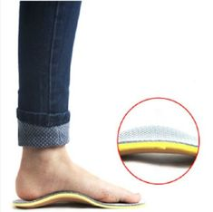 cool Comfort Orthotic Arch Support Insoles for Sport Shoes and Work Boots Relief for Foot Pain Due to Flat Feet and Plantar Fasciitis(men)