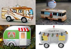 Creative RVing Christmas ornaments!