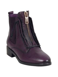 Miz Mooz Affair Chelsea Bootie in Purple