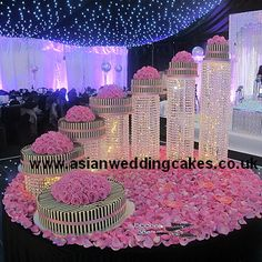 asian wedding cakes planning your Elegant Wedding Cakes, Beautiful Wedding Cakes, Beautiful Cakes, Dream Wedding, Luxury Wedding, Wedding Themes, Wedding Decorations, Fountain Wedding Cakes, Chandelier Cake
