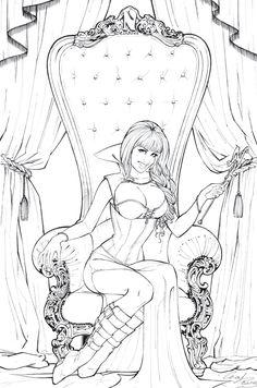 Noelia Queen by Elias-Chatzoudis.deviantart.com on @deviantART