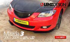 Mazda 3 BK Lenzdesign Bodykit & Spoilers 2003 2004 2005 2006 2007 2008 2009 Carbon Fiber, Kit, Ideas, Mazda 3 Sedan, Cars, Thoughts