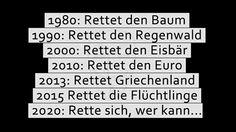 Rettet den Regenwald, Rettet Griechenland, Rettet die Flüchtlinge, Rette sich, wer kann... - http://www.statusquo-news.de/rettet-den-regenwald-rettet-griechenland-rettet-die-fluechtlinge-rette-sich-wer-kann/