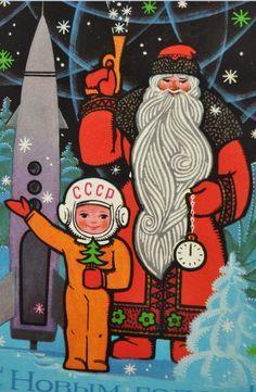 christmas russian cards - Cerca con Google