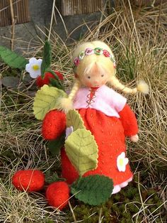 Adorable strawberry doll!!