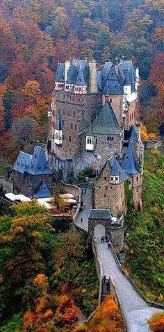 Germany. Burg Eltz Castle