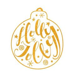 Printable Christmas Cards - Holly Jolly Gold Bauble Free Printable Christmas Cards, Bauble, Homemade Gifts, Free Printables, New Baby Products, Diy Crafts, Crafty, Holiday, Gold