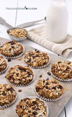 These quinoa coconut banana muffins are so easy to make, naturally sweetened, packed with protein and fiber, vegan, gluten free and kid approved! | www.pancakewarriors.com