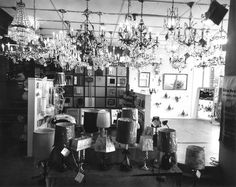 This is our first showroom in the 1950's