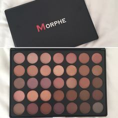 My new Morphe palette! 35T! It looks so pretty! Can't wait to start using it!