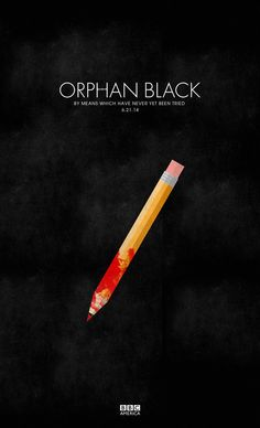 #OrphanBlack. Season Finale. Sharpen your pencils, #CloneClub. pic.twitter.com/FNi5zaaH9O