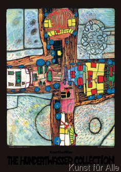 Friedensreich Hundertwasser - Strassenkreuzung