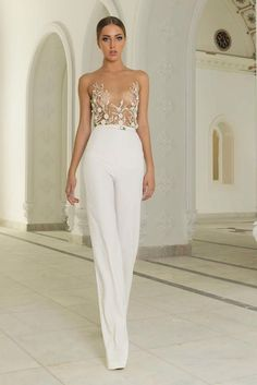 25 Unconventional Bridal Pants and Suits for the Modern Bride!