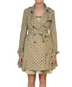 Red Valentino Trench with Polka Dots print