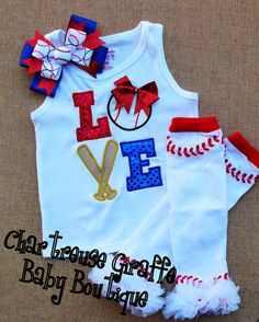 Baseball Love Girls Shirt