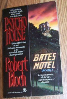 PSYCHO HOUSE by Robert Bloch Bates Motel PB Book