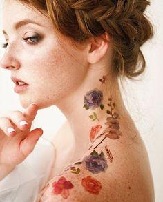 30 Wonderful Rose Tattoo Designs for girls