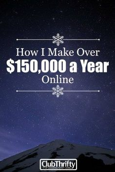 Want to earn a living on the internet? It isn't easy, but it is possible. Learn how I make over $150K and support my family through online income.