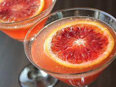 Blood Orange Martini. My favorite winter cocktail!