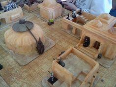 The Dice Warrior Table Games, Game Tables, Aniversario Star Wars, Sci Fi Miniatures, Star Wars Models, Wargaming Terrain, Custom Action Figures, Fun Games, Board Games