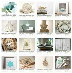 Tranquil. accessories buddha decor home and living lotus ohm zen