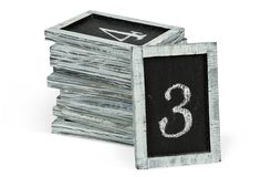 Chalkboard Table Numbers, great for a wedding or dinner party