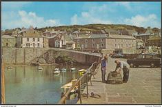 The Harbour, Mousehole, Cornwall, c.1960s - Postcard