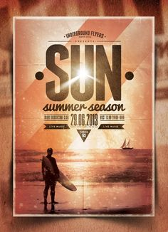 Summer Vol. 3 - Free Flyer Template