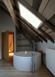 Salle de bain | ♥ ZALINKA.COM ☆ bain au grenier