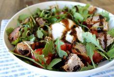 Heirloom Tomato and Burrata Panzanella Salad - Little Chef Big Appetite