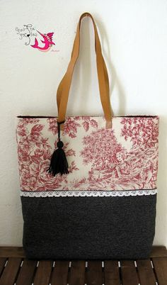 handmade tote bag Tote Bags Handmade, Reusable Tote Bags, Fashion, Moda, Fashion Styles, Fashion Illustrations, Fashion Models