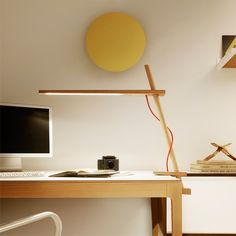 Lampada da tavolo Clamp - Red Dot Design Award 2012