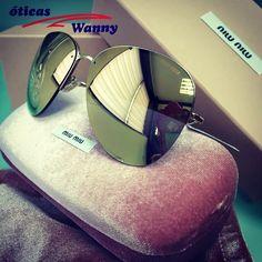 Para quem ama Miu Miu uma dose extra de espelho. #colecao #de #oculos #miumiu #oticas #wanny #lancamento #sunglasses