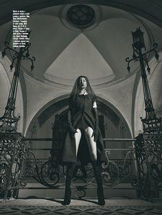 """Black Magic"" By Georgi Andinov for AMICA November 2012"