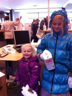 Indsamlere i Helsinge :-) #Landsindsamling #Visflaget